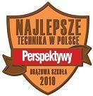 Najlepsze Technika w Polsce - brązowa odznaka Perspektywy